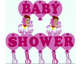 BABY SHOWER FOAM BANNER
