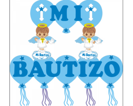 BAPTISM ANGEL FOAM BANNER