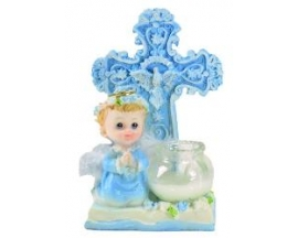 CERAMIC ANGEL CENTERPIECE (12 PC)