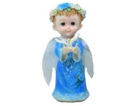 CERAMIC  STANDING ANGEL (12 PC)