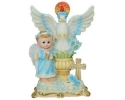 CERAMIC HOLLY SPIRIT CENTERPIECE (12 PC)