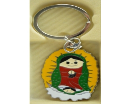 VIRGENSITA METAL KEY CHAIN