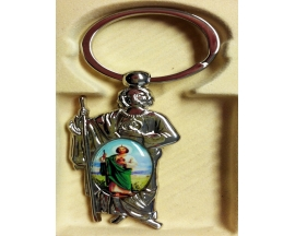 SAINT JUDE(SAN JUDAS)KEY CHAIN (12 PC)