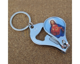 JESUS NAIL CLIPPER KEYCHAIN (12 PC)
