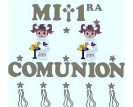 COMMUNION BANNER GIRL