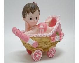 CERAMIC BABY ON STROLLER CENTERPIECE (12 PC)