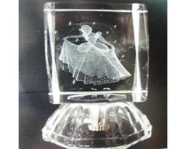 GLASS  CINDERELLA CUBE (12pcs)