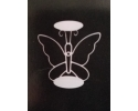 METAL BUTTERFLY CANDLE STAND