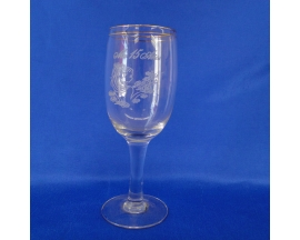 XV SPIRAL GLASS CUP
