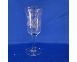 QUINCEANERA GLASS BUTTERFLY CUP(6 PC)