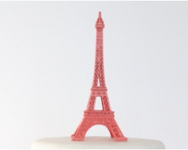 METAL EIFFEL TOWER REPLICA 28""