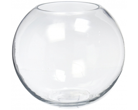 "GLASS FISH BOWL10"" (12PCS)"
