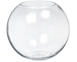 "GLASS FISH BOWL 3"" (12PCS)"