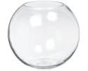 """GLASS FISH BOWL 8"""" (12PCS)"""
