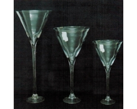 MARTINY GLASS CUP 20""