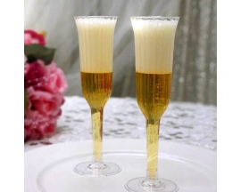 CHAMPAGNE FLUTE CUPS (12 PC)