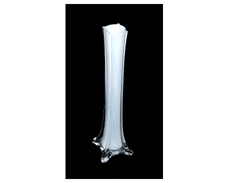 "20"" CLEAR GLASS VASE(12PC)"