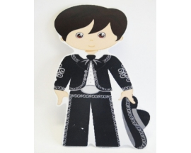 "8"" MEXICAN CHARRO FOAM CUT OUT (12 PC)"