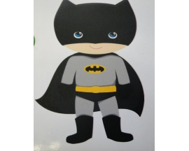 "8"" BATMAN FOAM CUT OUT (12 PC)"