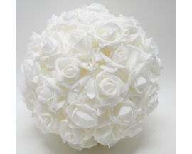"10"" KISSING FLOWER FOAM BALL"