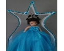 PRECIOUS MOMENTS DOLL W/TULLIP ARCH