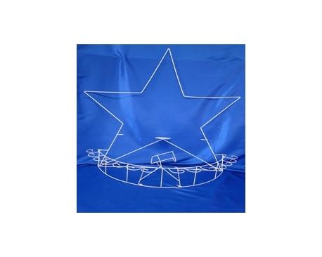 METAL BRINDYS STAR CUP HOLDER