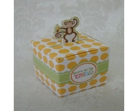 SAFARY PAPER FAVOR BOX (12 PC)