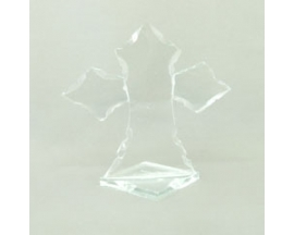 GLASS FAVOR CROSS (12pcs)