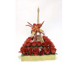 "20"" DEOCORATED EIFFEL TOWER"