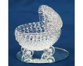 GLASS BABY CRIB (12PC)