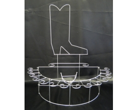 BOOT BRYNDIS METAL  CUP HOLDER