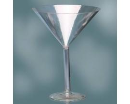 """12"""" Plastic Martini"""