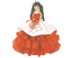 "22"" Mexican Charra Rose quinceanera doll"