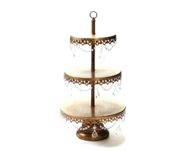 "22"" 3 tier Cake stand wire (1 pc)"