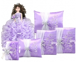 QUINCEANERA GARLAND SET 42(6PC)
