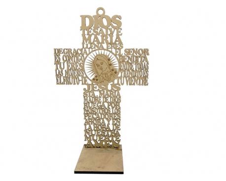 "12"" Wood Cross Prayer"
