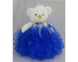 "17"" Ruffle Teddy Bear"