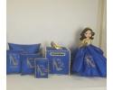 Snow White Quinceanera set (7 pc)