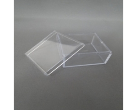 "1.75""X1 3/4"" PLASTIC SQUARE BOX"