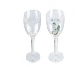GLASS CHAMPAGNE MIS QUINCE CUPS (14pcs)