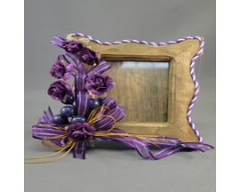 "5"" height decorated picture frame for party favor"