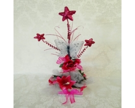 5X22 QUINCEANERA STAR SPRAY CENTERPIECE