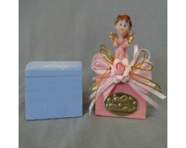 6x4 Cm wooden Box painted(set of 12)