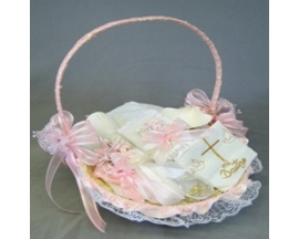 Baptism Set in a basket