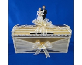 Wedding decorated Money Box
