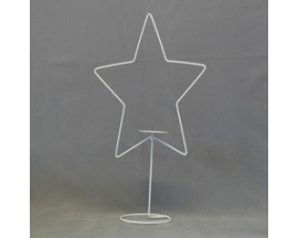 "12"" ""Star metal stand"