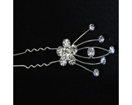 HAIR RHINESTONE PINS