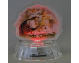 cristal lighted comunion figurine