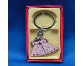 baby shower dress keychain (12pc)