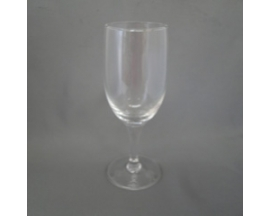 flutted glass plain cups (6pc)